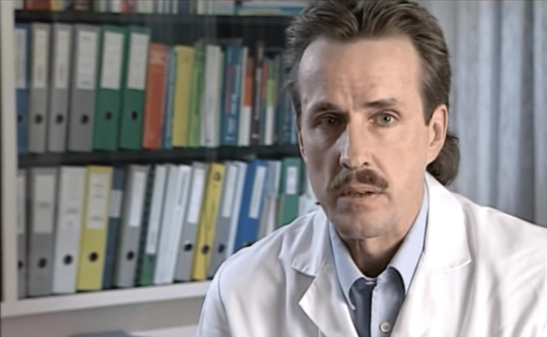 Dr. Markus Wopmann im Präventionsfilm