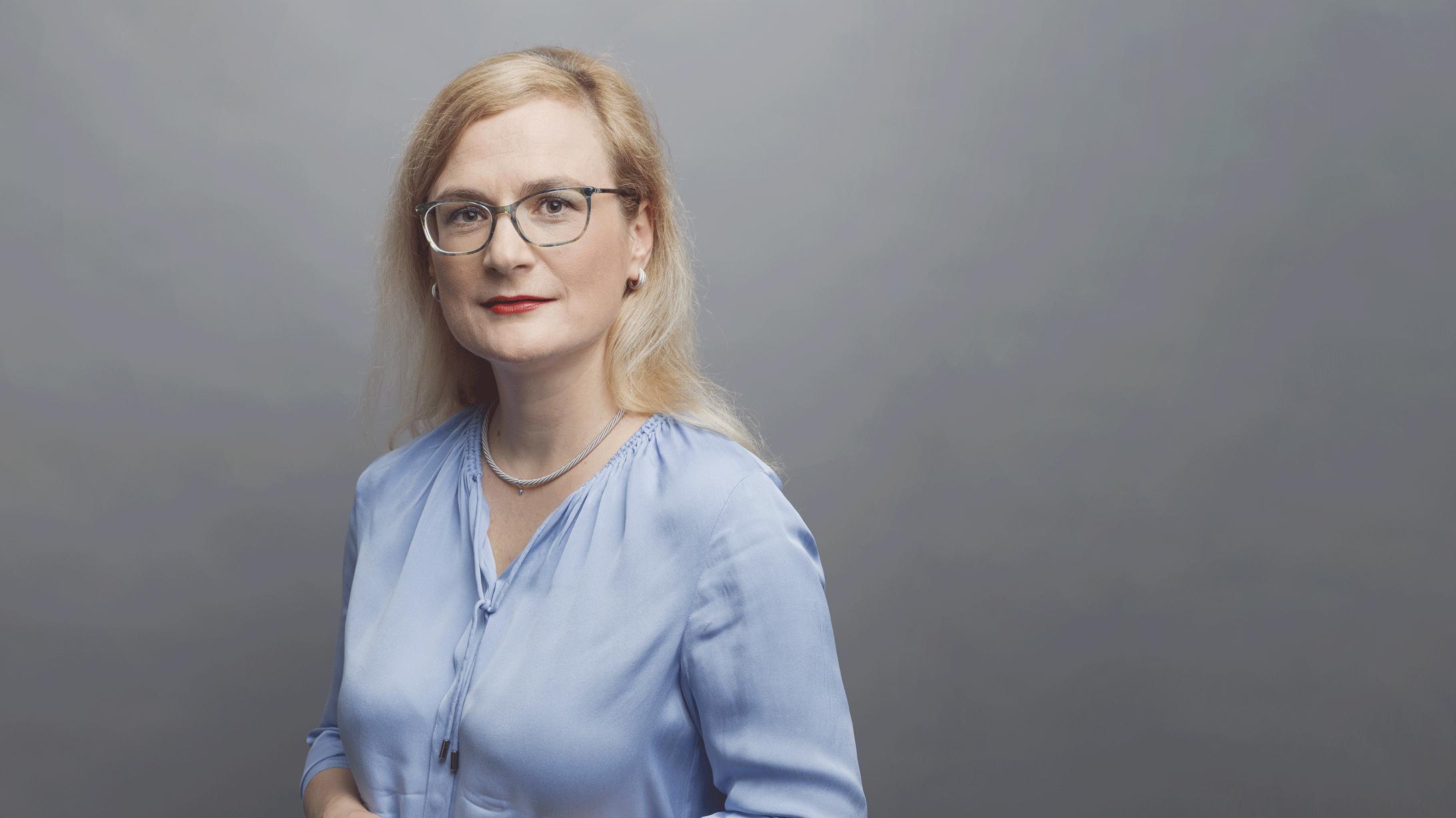 Portraitbild von Cornelia Leo, Leiterin des Brustzentrums am KSB.