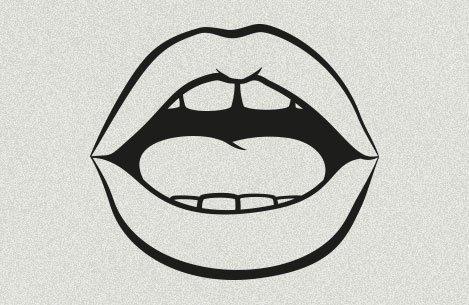 Symbolbild: Mund