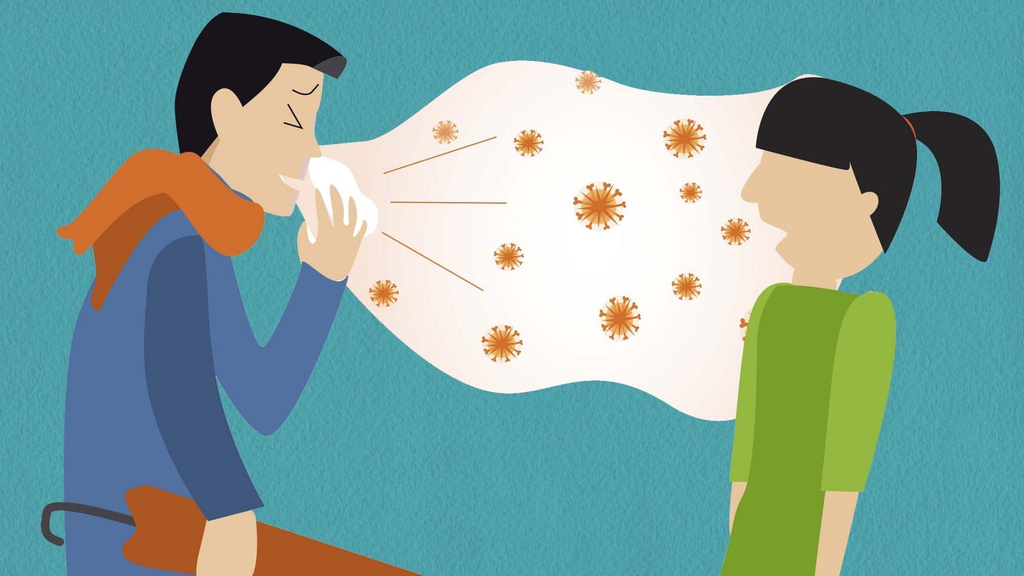 Grippeimpfung Ansteckung