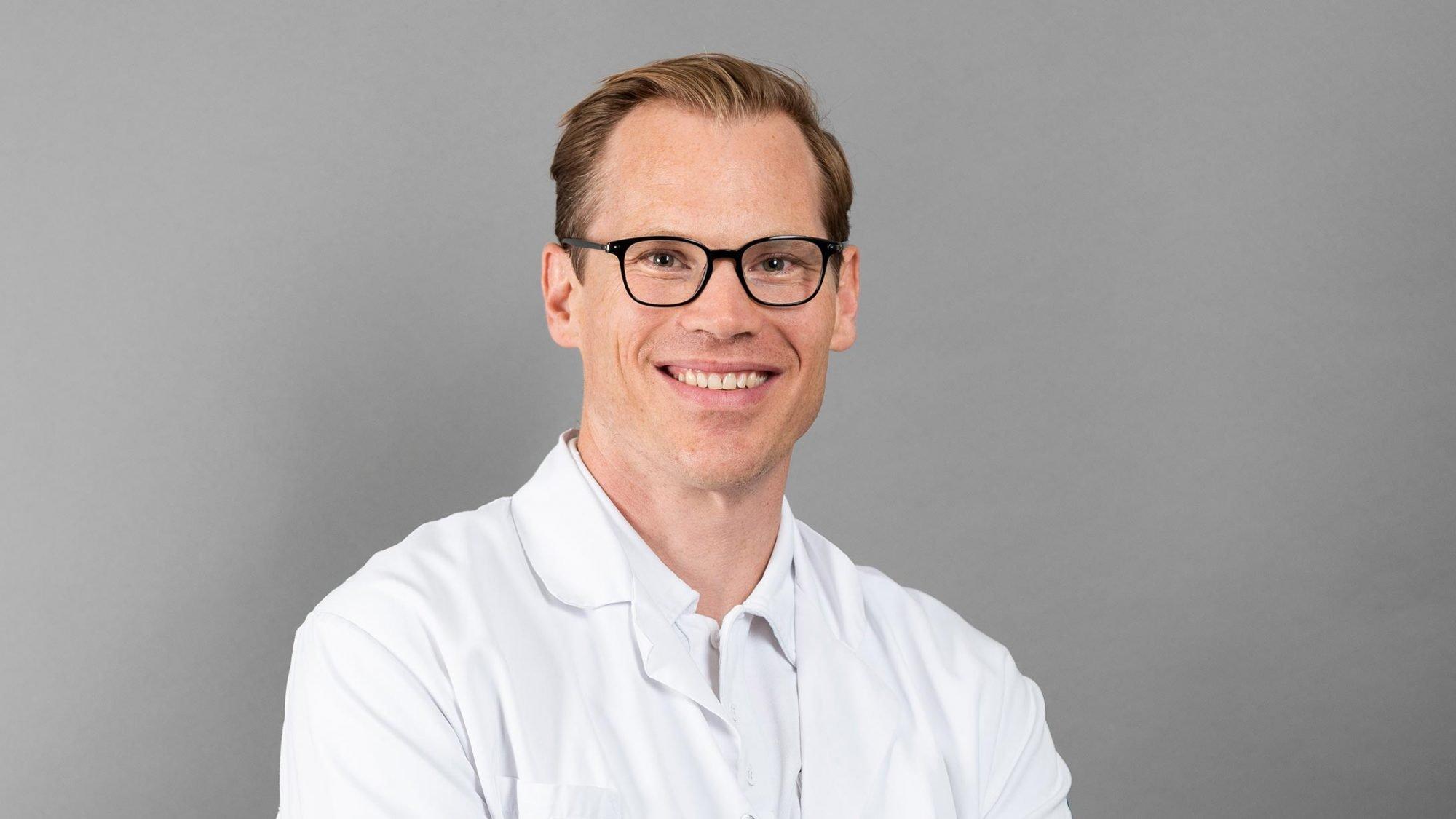 Lukas Hefermehl, Facharzt für Urologie am Kantonsspital Baden