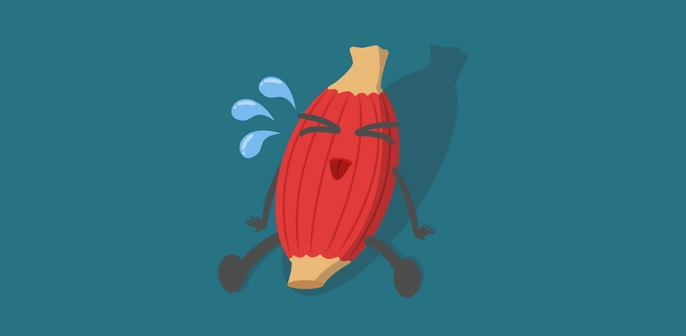 Muskelkrampf: Illustration eines Muskels, der einen Krampf hat