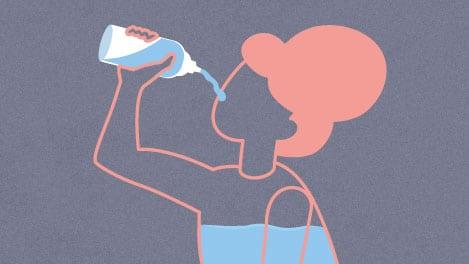Illustration des Hormons Vasopressin