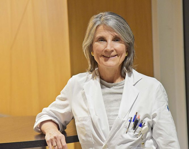 Die Angiologin Manuela Birrer.