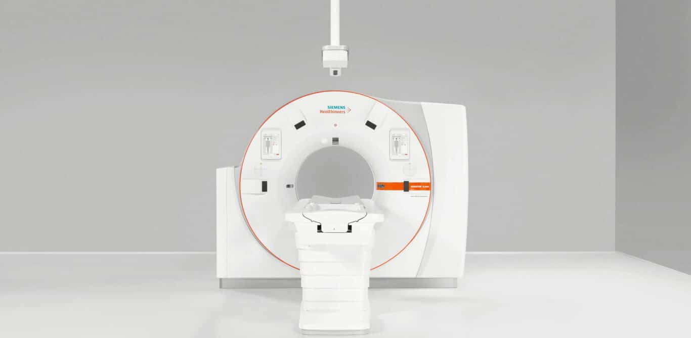 Ein Computertomographie-Gerät von Siemens Healthineers