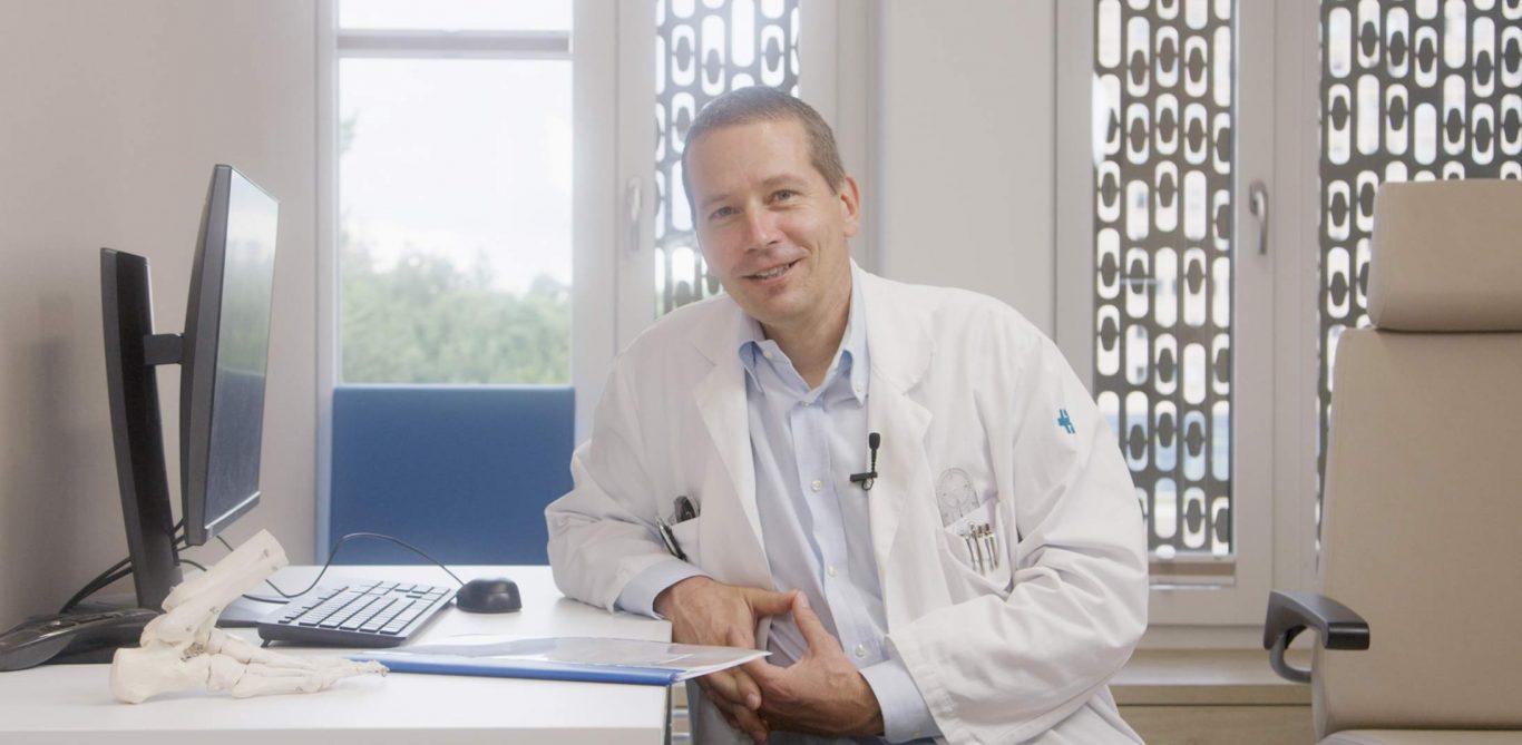 Urs Neurauter, Leitender Arzt Orthopädie