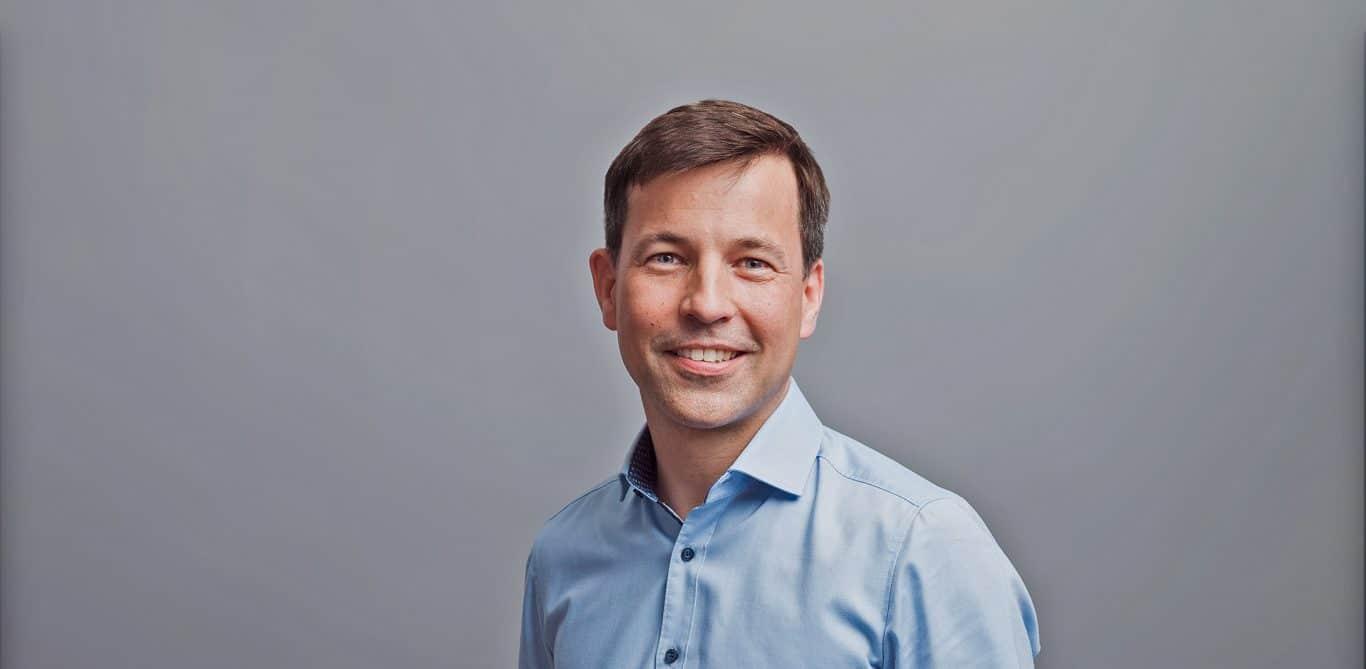 Porträt Martin Heubner, Chefarzt Gynäkologie