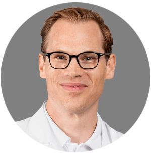 Portrait von Lukas Hefermehl, Leitender Arzt Urologie am KSB