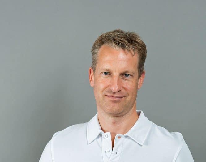 Porträt Fabian Deichsel, Oberarzt Klinik für Allgemein-, Viszeral- und Gefässchirurgie