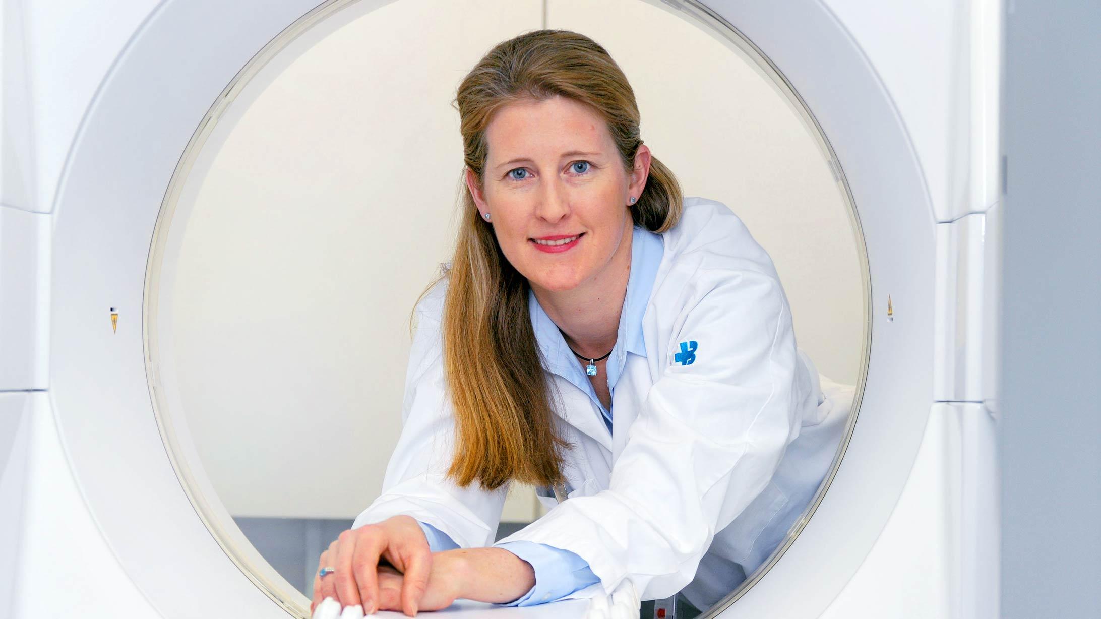 Irene Burger ist Chefärztin Nuklearmedizin am KSB