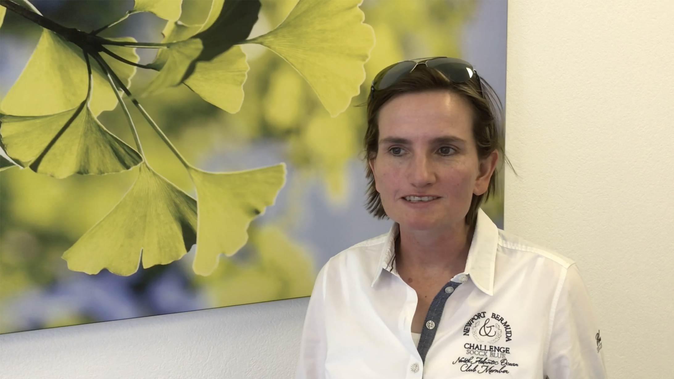 Patientin Stefanie J. wurde mit einer Radiojodtherapie behandelt