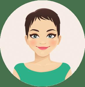 Illustration einer Frau die eine Frage hat bezüglich Schwangerschaftstests