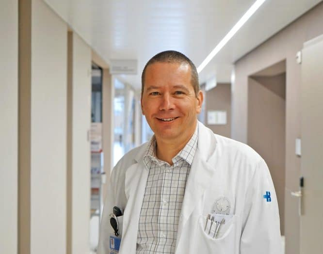 Urs Neurauter, Orthopäde und Fusschirurg am KSB