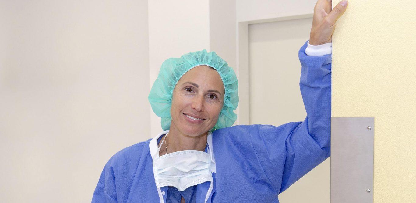 Janine Streich ist leitende Ärztin Anästhesie