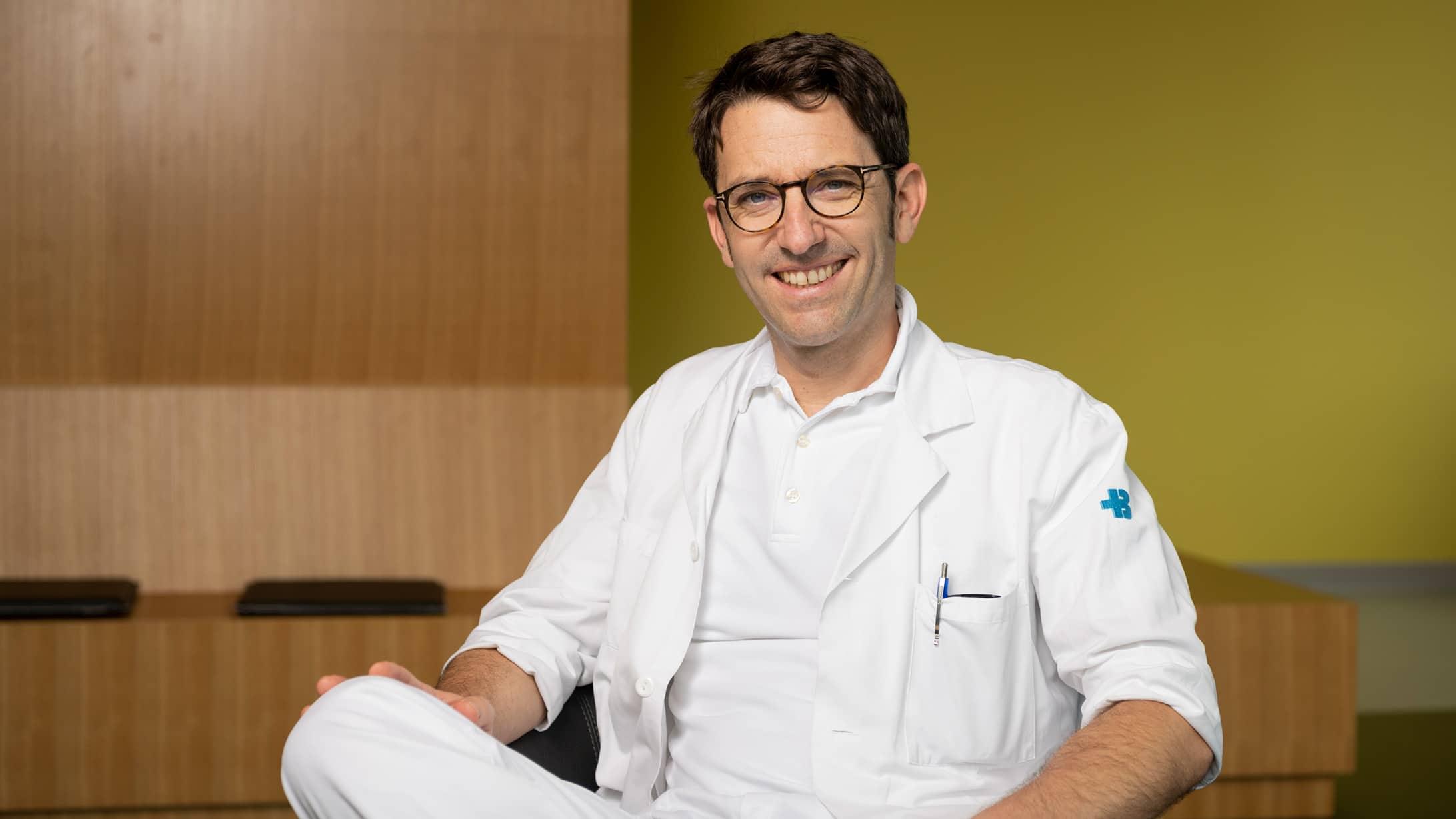 Stephan Engelberger, Leitender Arzt Klinik für Allgemein-, Viszeral- und Gefässchirurgie