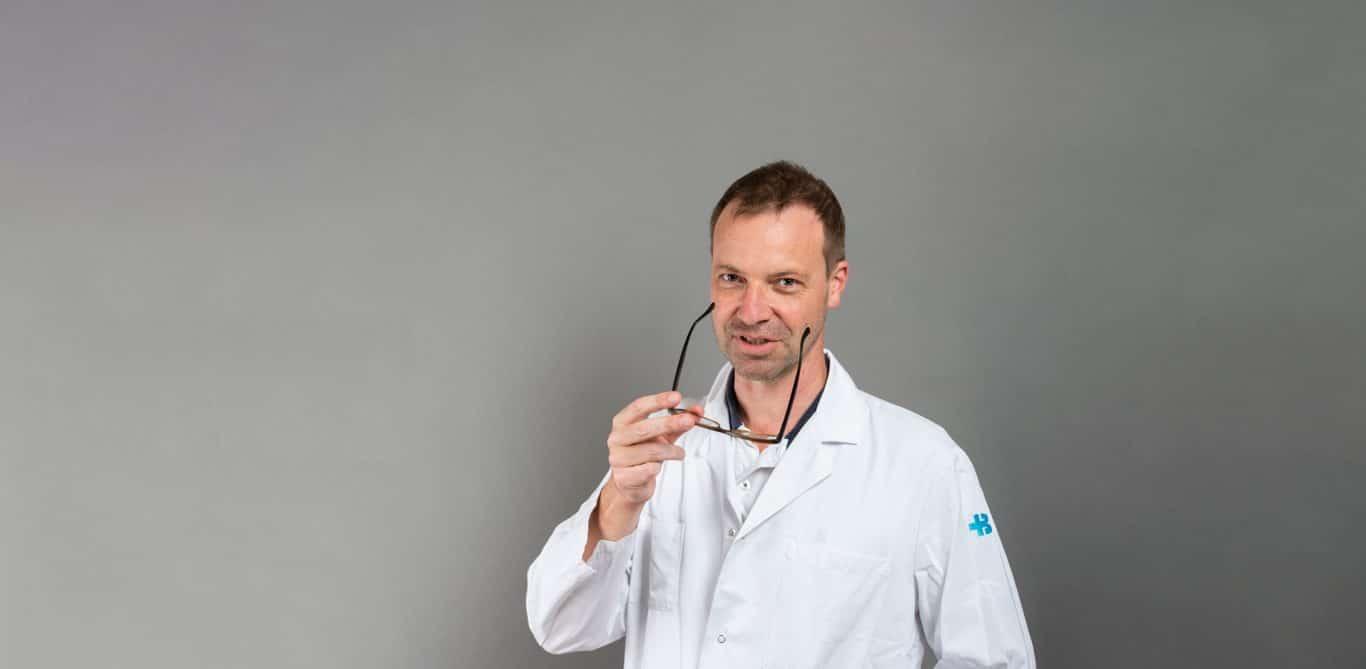 Matthias Froh, Chefarzt Gastroenterologie am KSB