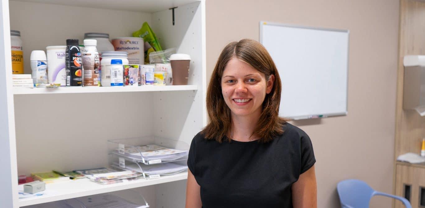 Nadja Greub, Ernährungsberaterin