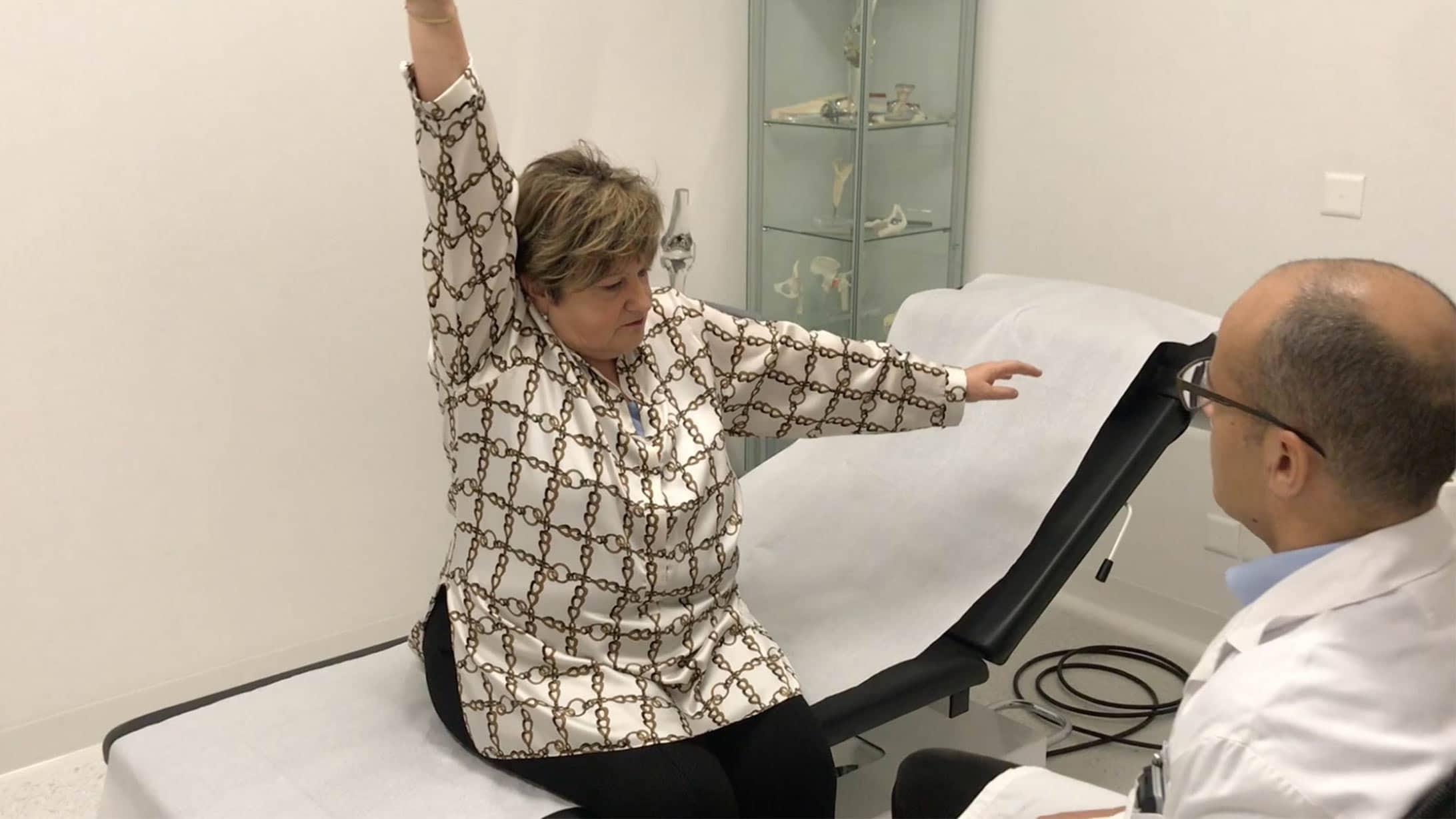 Patientin Dora Meier in der Konsultation