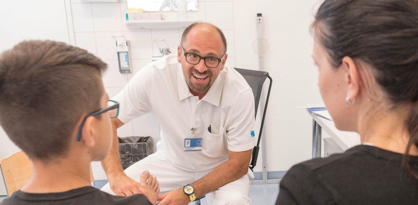 Robert Weil, Leitender Arzt Kinderchirurgie KSB