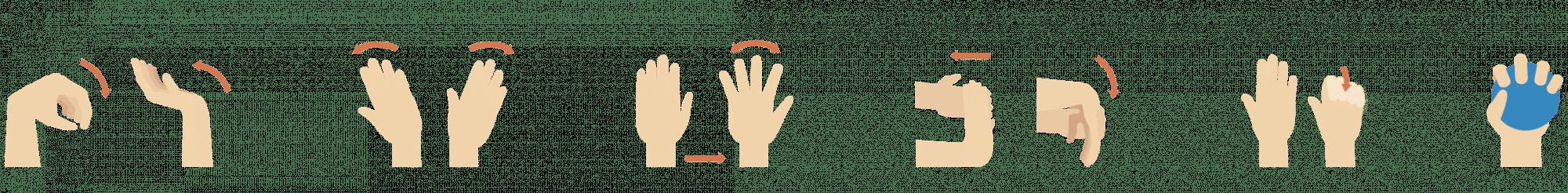 Übungen zur Kräftigung der Handmuskulatur und dem Handgewölbe