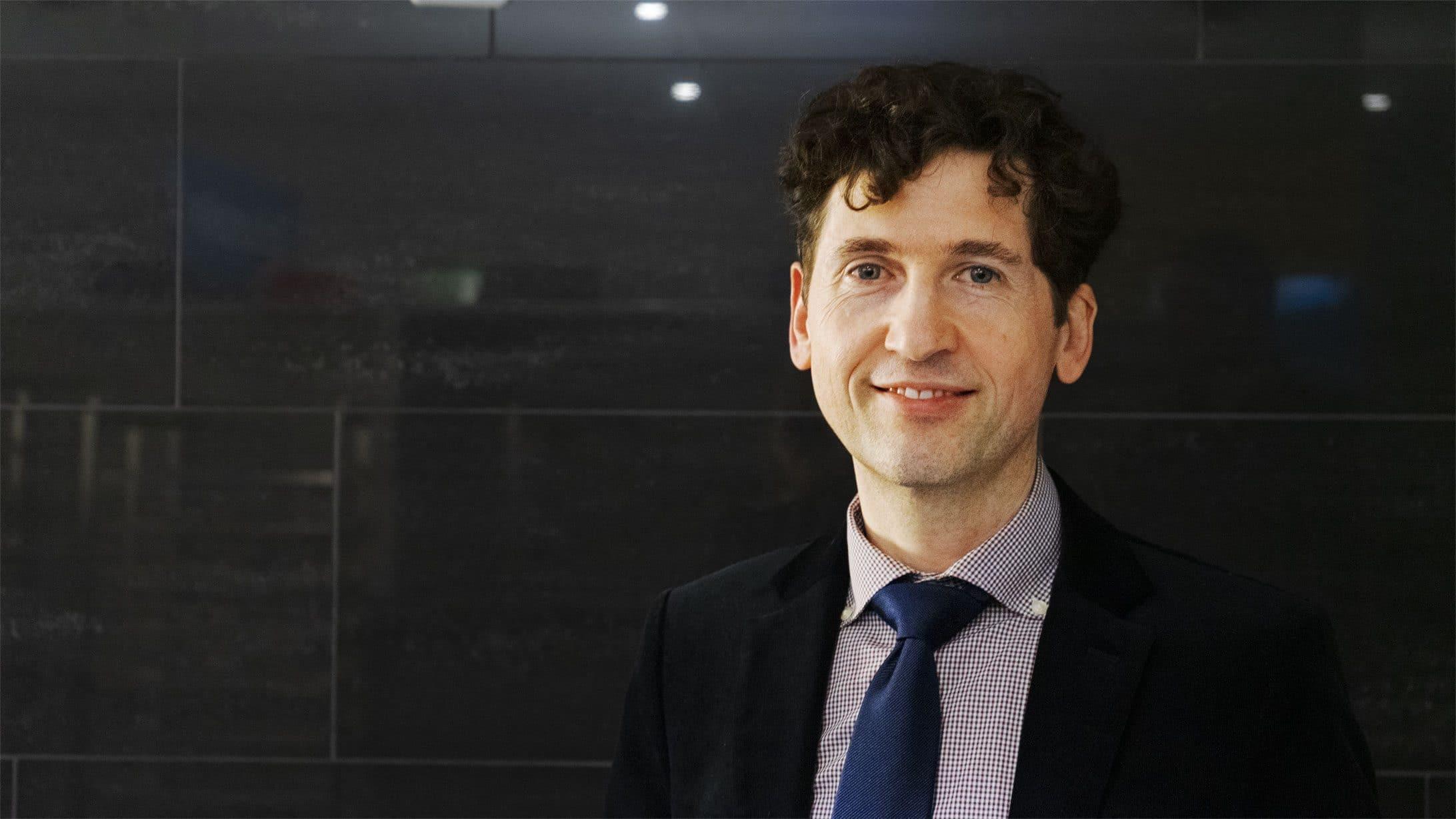 Michael Egloff, Teil der Männersprechstunde und Endokrinologe am KSB