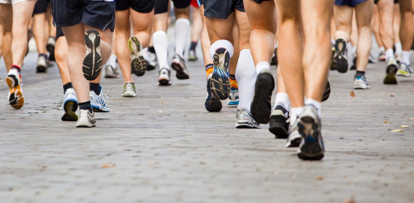Läufer bei einem Marathon