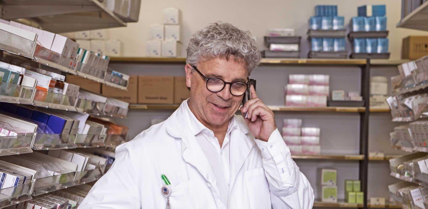 Peter Wiedemeier, Leiter der KSB-Spitalapotheke