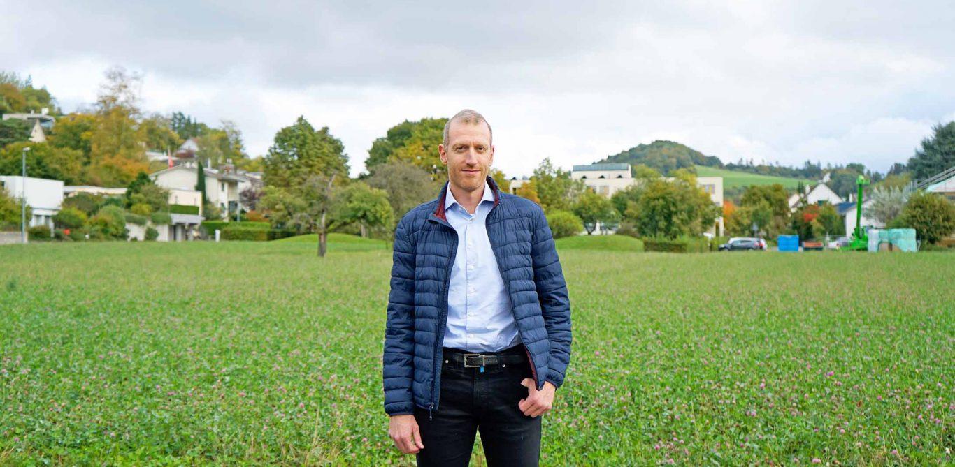 Peter Kopp, Frozen-Shoulder-Patient