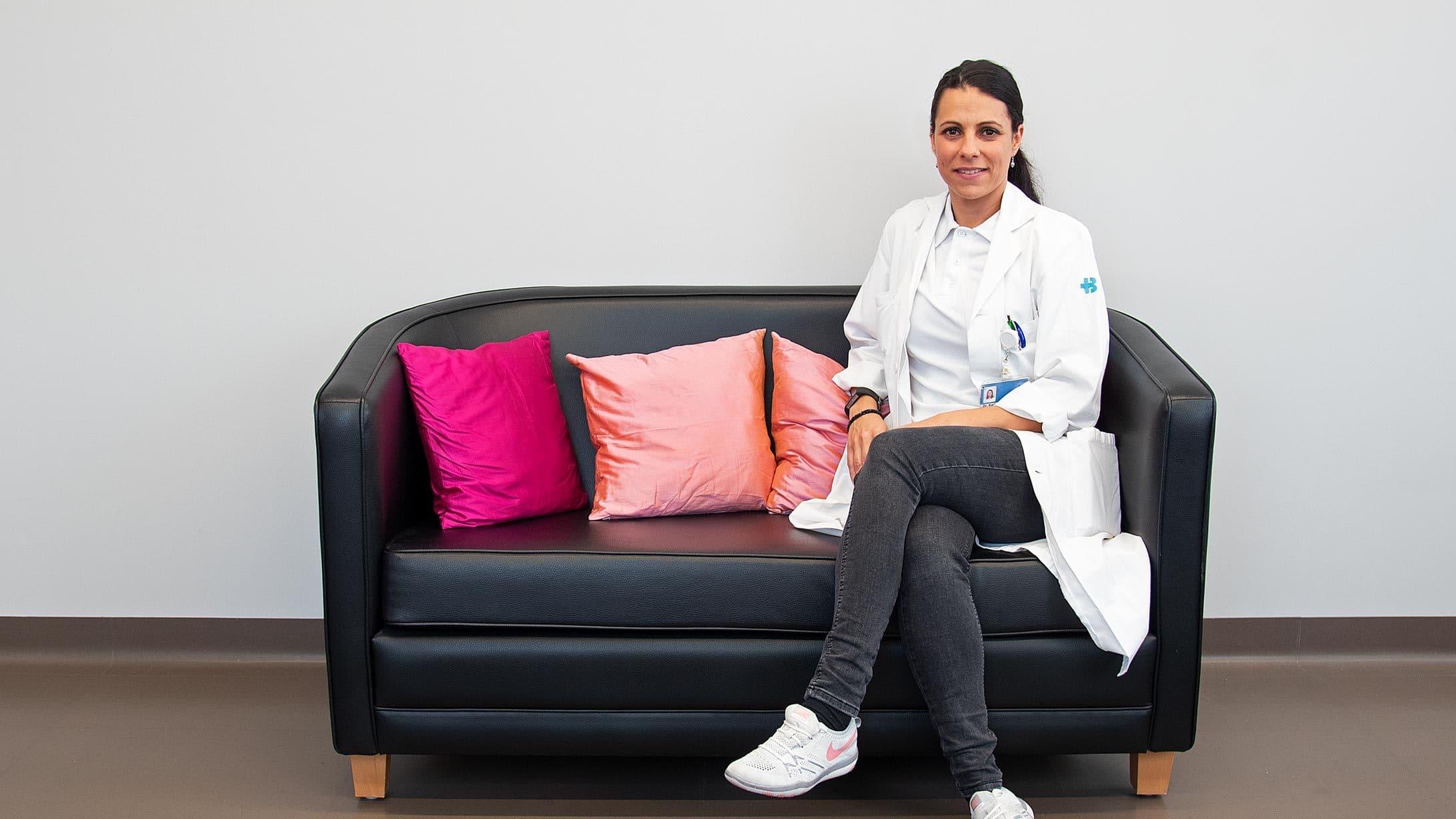 Karin Hofmann ist Gynopsychiaterin und Konsiliarärztin am KSB.