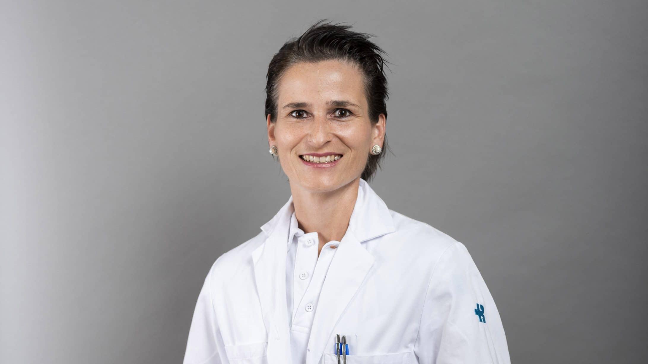 Angélique Sponholz-Schudel, Gastroenterologin am KSB