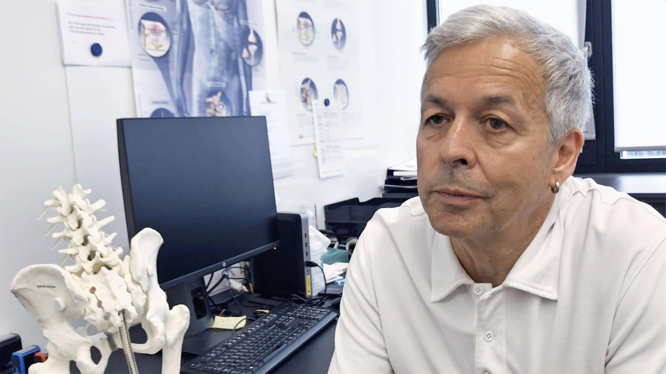 Lorenzo Cerletti, Leiter Schmerztherapie am KSB