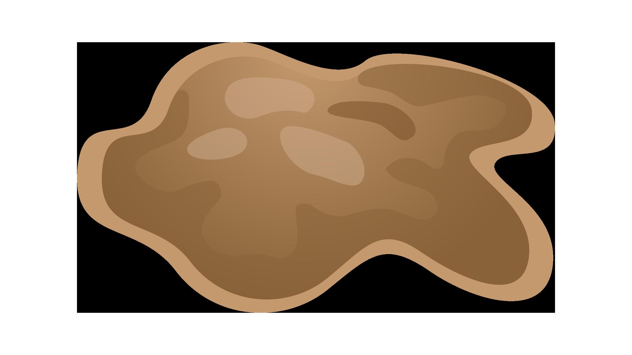 Illustration des Stuhlgang-Typ 7: Flüssiger Kot ohne feste Bestandteile