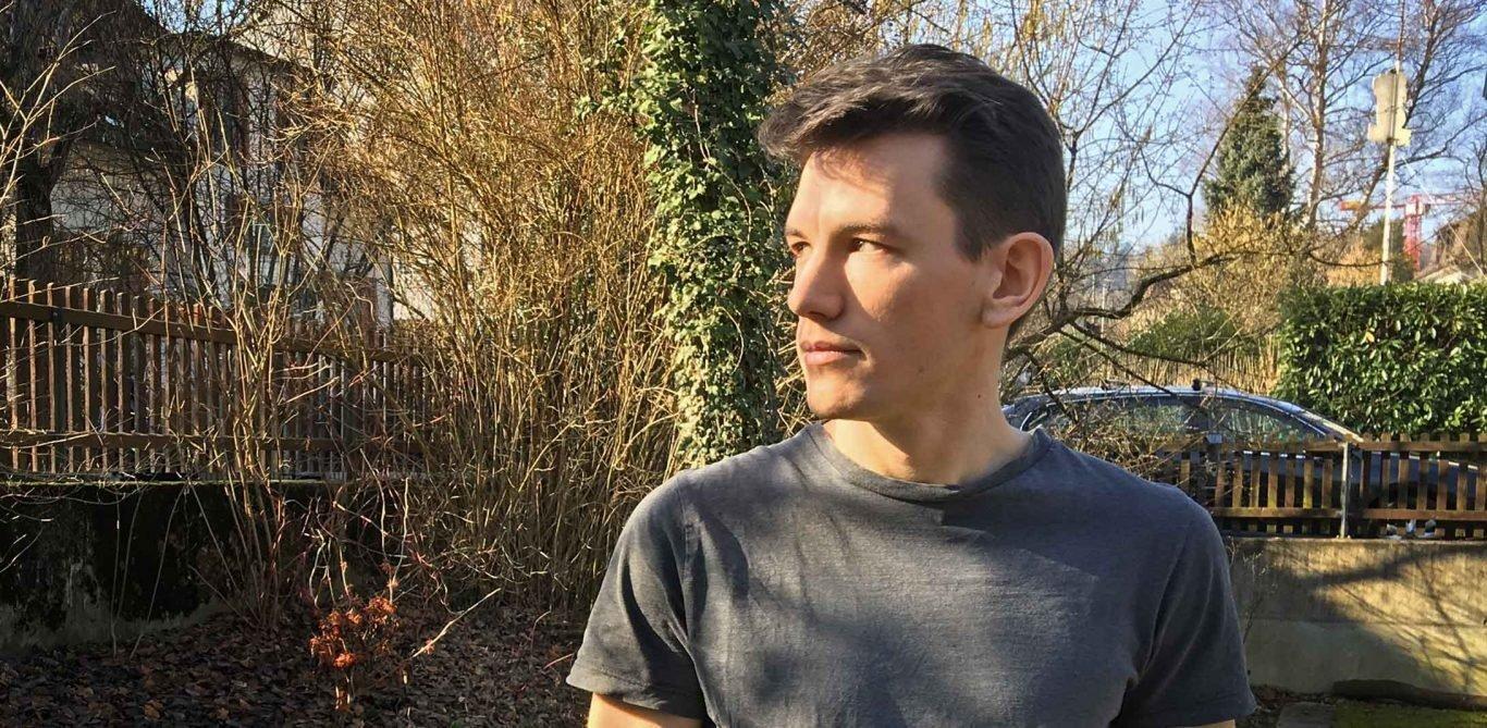 Der Aargauer Philosophiestudent Leonard Bregenzer