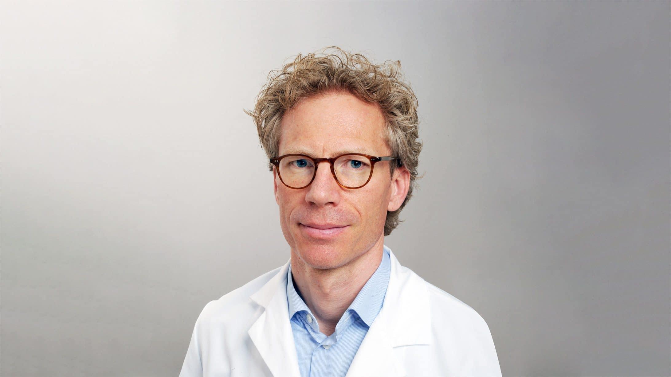 Dr Leonhard Schäffer, Chefarzr der KSB-Geburtsklinik