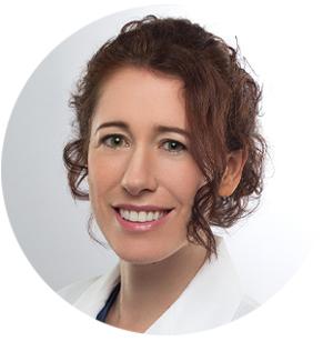 Catherine Gebhard, Leitende Ärztin interventionelle Kardiologie am Kantonsspital Baden