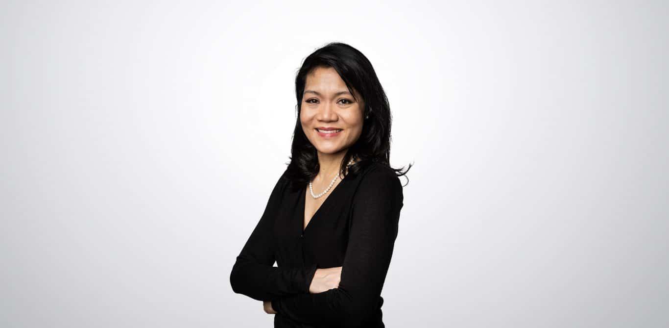Swiss-Nuclides-Geschäftsführerin Leila Jaafar