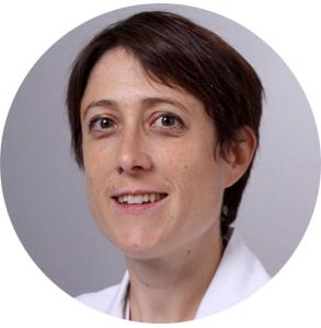 Porträt von Petra Ferrari Pedrini, Stellvertretende Leitende Ärztin Innere Medizin am KSB