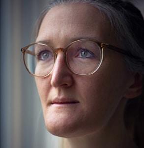 Kopfportrait von Patricia Stöcklin, Leitende Ärztin der Intensivstation des Kantonsspitals Baden