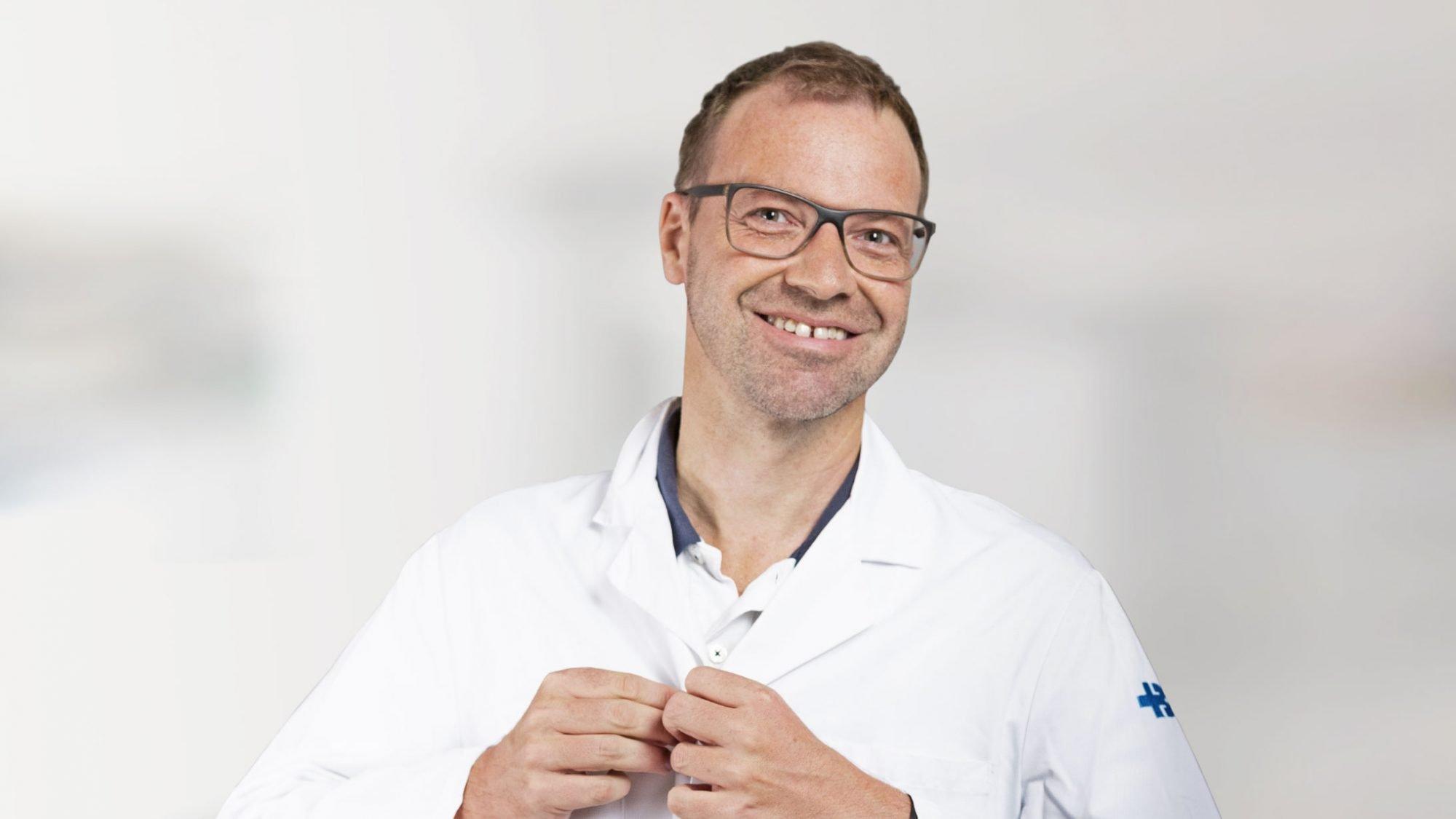 Matthias Froh, Gastroenterologe am KSB