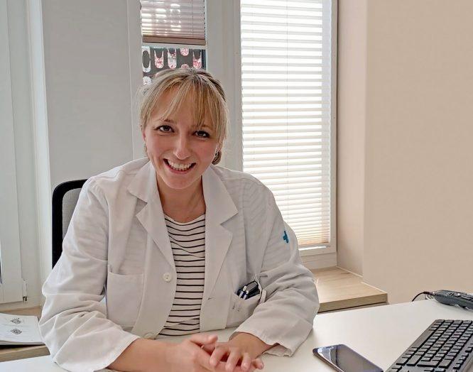 Handchirurgin Evelin Soleman