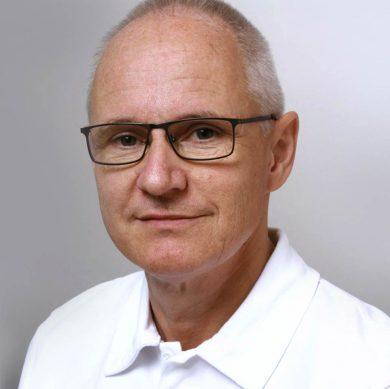 Portrait von KSB-Kinderarzt Urs Lässer.
